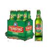 Chinese Tsingdao bier 6 flessen [*17]